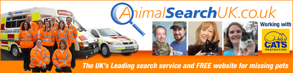 Missing Pets website and Animal Search Service