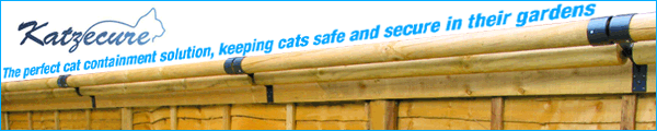Katzecure cat containment fencing systems