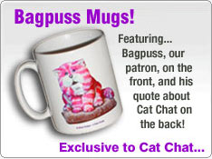 Exclusive Bagpuss Cat Chat mugs