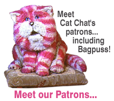 Cat Chat Patrons including Bagpuss